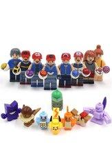 POKEMON LEGO 16 figurer