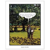 Affisch Jan Stenmark 'Blommorna' liten 24x30 cm