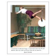 Affisch Jan Stenmark 'Damma' liten 24x30 cm