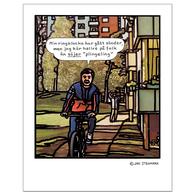 Affisch Jan Stenmark 'Plingeling' liten 24x30 cm