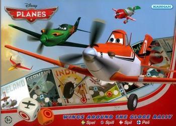 Disney Planes Spel Wings Around the Globe Rally
