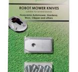 Knivar till robotgräsklippare, 9-pack