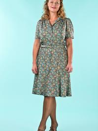 that same old favorite dress. acorns dusty blue