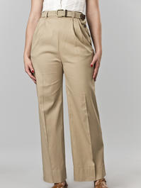 the casual voyager slacks. sand twill