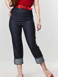 the Peggy Sue pants. thin denim