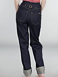 the Norma Jean jeans. Navy heavy denim
