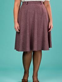 the jazzy A-line skirt. fig salt & pepper