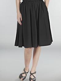 the sweetest swing skirt. Black