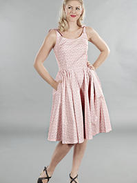 the bona fide bows beach dress. Pink bows