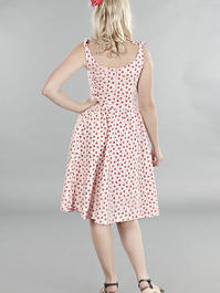 the bona fide bows beach dress. Pink flowers