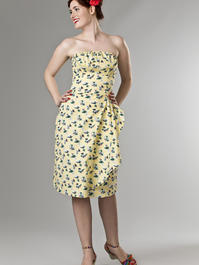 the Honolulu honey dress. vacation yellow