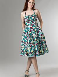 the Honolulu swing dress. candy plum