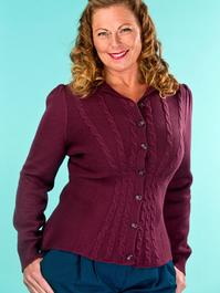 the screen siren cardigan. fig