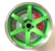 "19"" WZ R3 Green polish 5x114,3 - 8,5x19 - ET35 - 73,1"