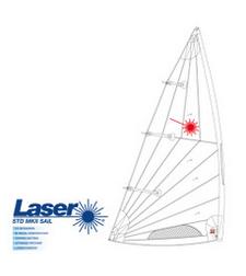 Laser - Std MK II Segel