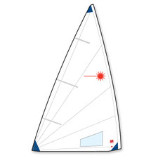 Laser - Radial segel 5,7 vikt