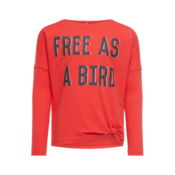 Kids Ls Top Free Red