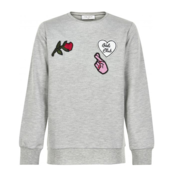 Kids Grey Sweatshirt Girls club