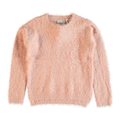 Kids Knitted Sweater Soft Pink