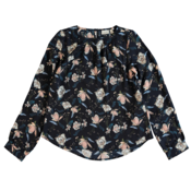 Name It Kids Blue Flower Blouse