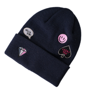 Name It Kids Knitted Hat Patch Blue
