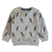 Mini Sweatshirt w. Lightning Grey