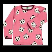 Panda T-shirt Småfolk Rosa