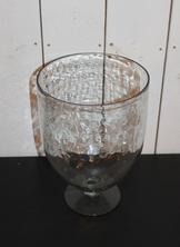Glasskål på fot