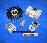 Cylinder Puch. Gilardoni reed valve. 74 cc. high speed kit. bästa pris