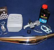 Komplett trimkit Zundapp. 70 cc.  Athena Superterm. 13 hkr inkl. högeffektspipa.