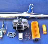 Komplett Trimkit. Yamaha FS 1.  60 cc 43 mm