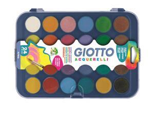 Giotto Aquarelli vattenfärg 24-pack