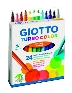 Giotto Turbo Color 24-pack BL