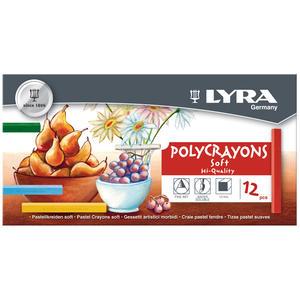 Lyra Polycrayons Soft 12-pack