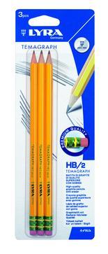 Lyra Temagraph med radertopp HB  3-pack BL