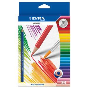 Lyra Osiris akvarell 36-pack
