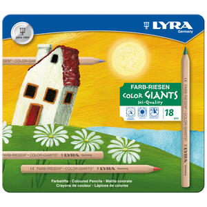 Lyra Color Giant olackad 18-pack metallask