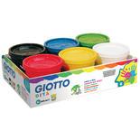 Giotto Dita Fingerfärg 6 x 200 ml