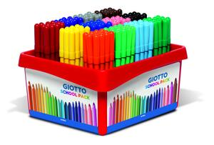 Giotto Turbo Color Skolpack 144 st