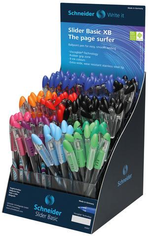 Slider Basic Colors XB 4-pack