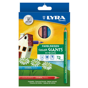 Lyra Color Giant lackad 12-pack