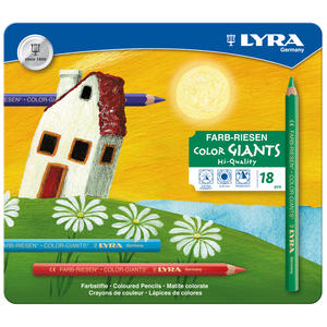 Lyra Color Giant lackad 18-pack metallask
