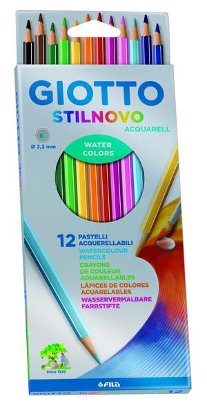 Giotto Stilnovo Aquarell 12-pack