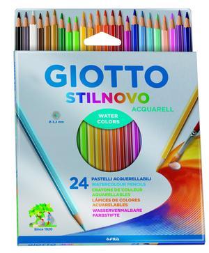 Giotto Stilnovo Aquarell 24-pack