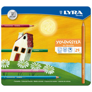 Lyra Youngster 24-pack metallask