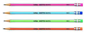 Blyertspenna Giotto Matita Grahpite HB med radertopp