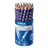 Lyra Groove Grafit B Blå 36st i burk