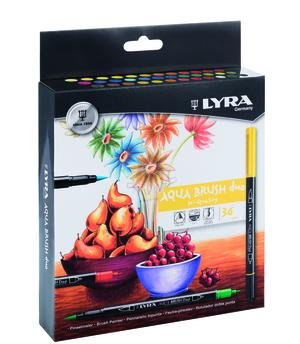 Lyra Aqua Brush Duo 36-pack