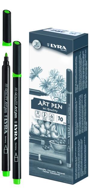 Lyra Hi-Quality Art Pen 10 st