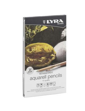 Lyra Rembrandt Aquarell Metallask 12-pack